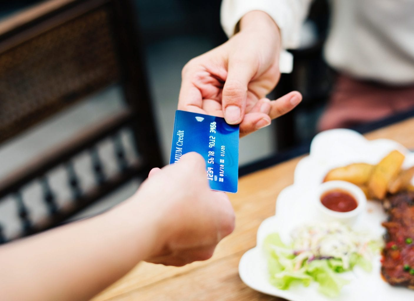 saque com o cartao de credito