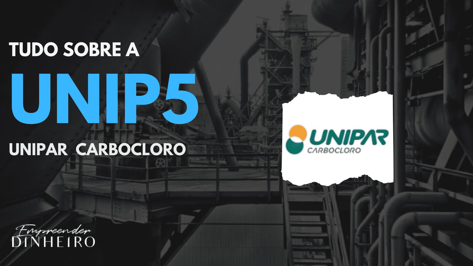 unip5 unipar carbocloro ações