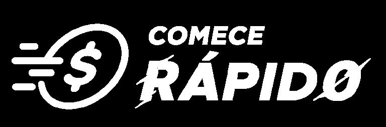 Logo Comece Rapido Branca