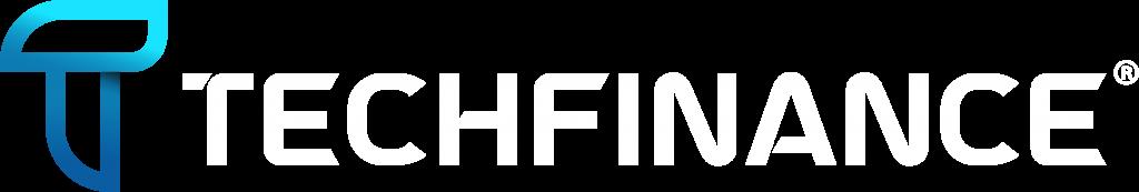 Logo TechFinance branca